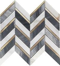 Chevron Marble Mosaic