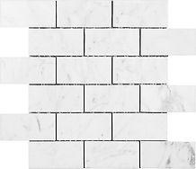 "Bianco Carrara 2"" x 4"" Subway"