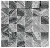 "2"" x 2"" Bardiglio Marble Mosaic"
