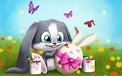 3d-abstract_widewallpaper_3d-easter_4123