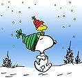 Snoopy-Snow-Graphic-Art-on-Canvas-MH-PEW