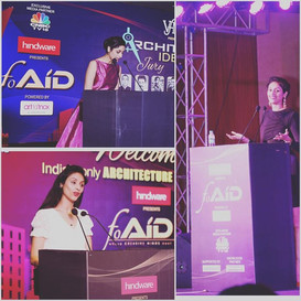 Hosted the 2 day international FOAID conference ( Festival Of Architecture Interior Design )
