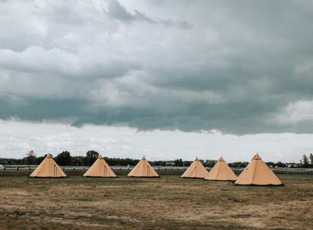 Nomad camp / location de tipi