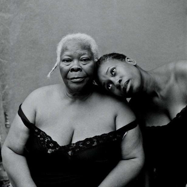 Portrait of Mother and Daughter (photographer)