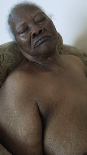 Body Portrait (still from) Single channel video 46 seconds