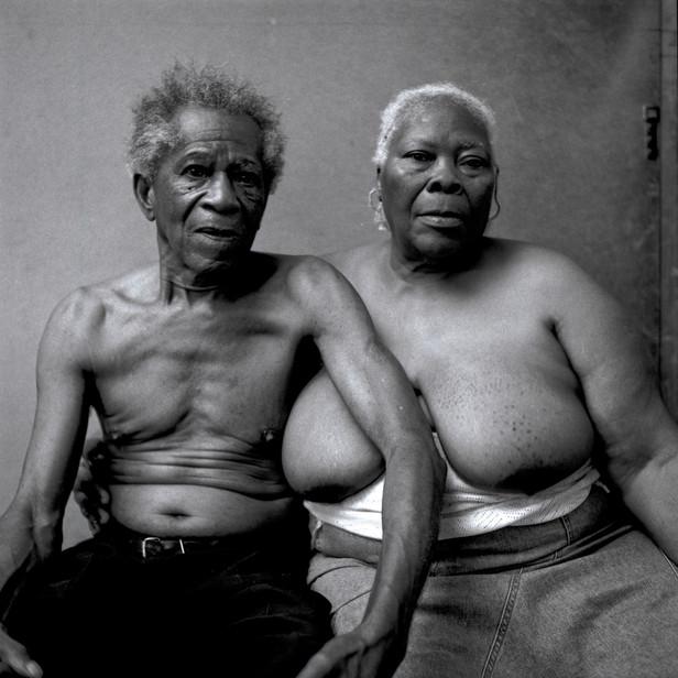 Portrait of Old Couple