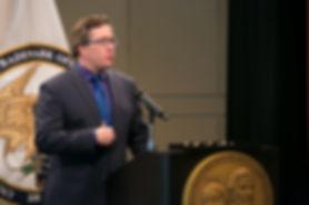Patrick Ross, public speakr