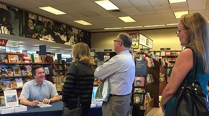 Patrick Ross at a book signing