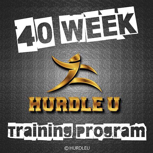 40 Week Training Program