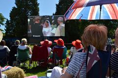 Royal wedding screening