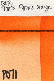 Transparent Pyrole Orange