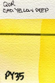 Cadmium Yellow Deep
