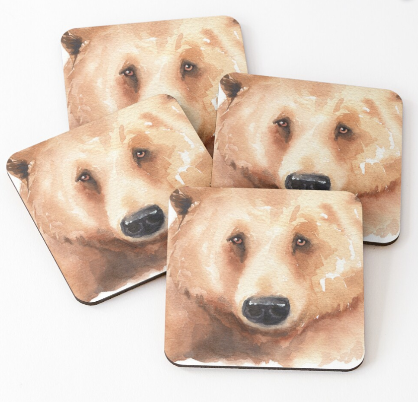 UntitledBear coaster