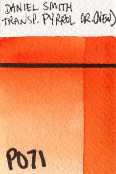 Transparent Pyrrol Orange (New)