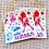 Thumbnail: Rollin' Rainbows Sticker Sheet
