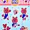 Thumbnail: Picnic Bear Sticker Sheet
