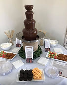 Dark Chocolate, Small Fountain at Adalin