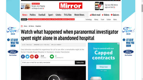 Curiosity - Daily Mirror