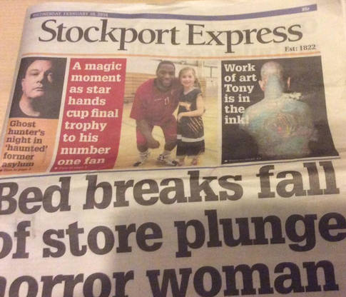 Curiosity - Stockport Express