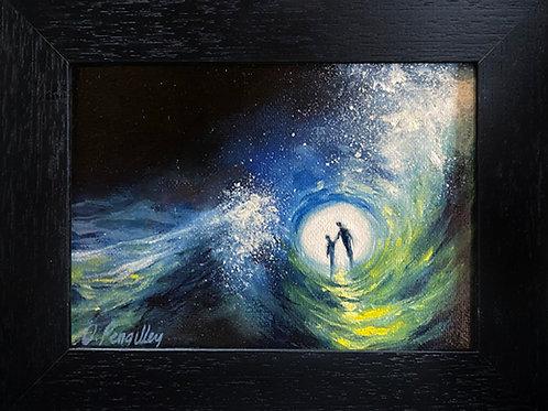 5 - 5 Miniature Oil painting