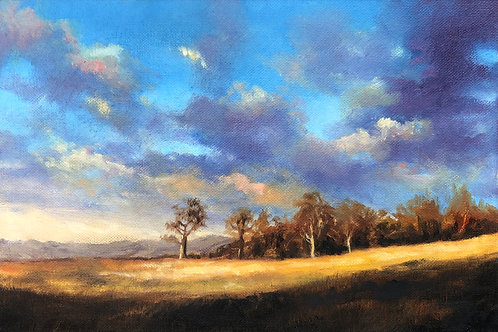 'English Countryside' Original Oil painting