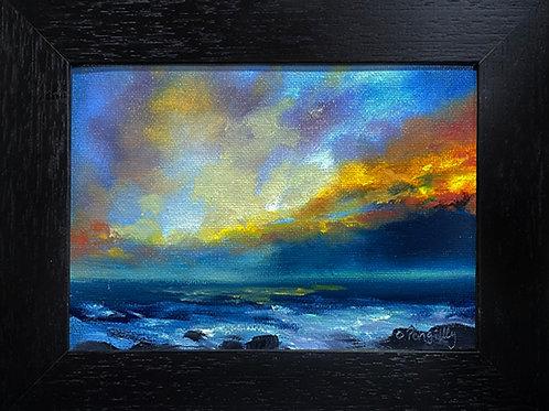4 - 5 Miniature Oil painting