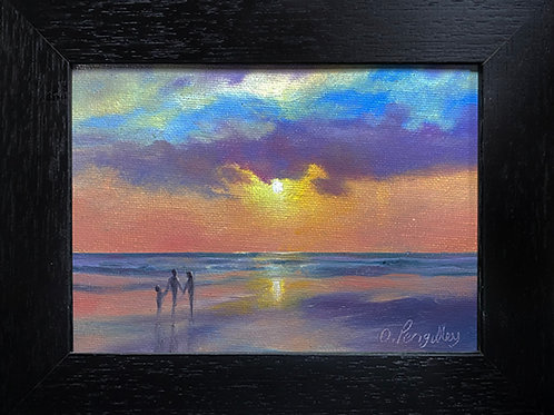 3 - 5 Miniature Oil painting