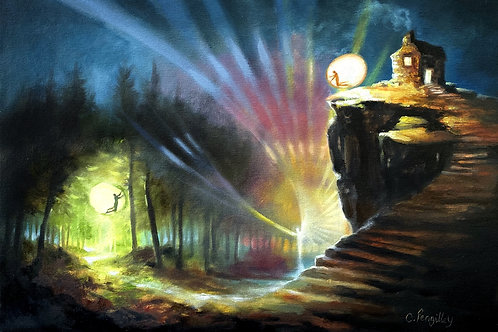 Original Oil painting 'Guiding Light'