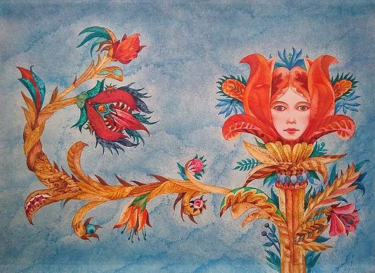 Blumenmärchen, Einband, 1981