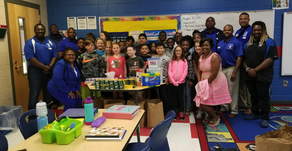 Zeta Teacher's Classroom Adopted By Local Sigma Chapter