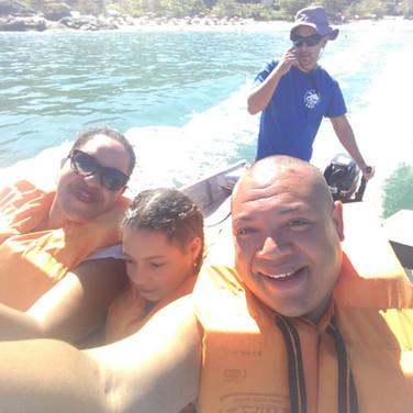 Jaime Alves e família