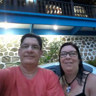 Cleber Nascimento e sua Esposa Neiva Rocha