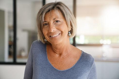 Smiling Mature Woman