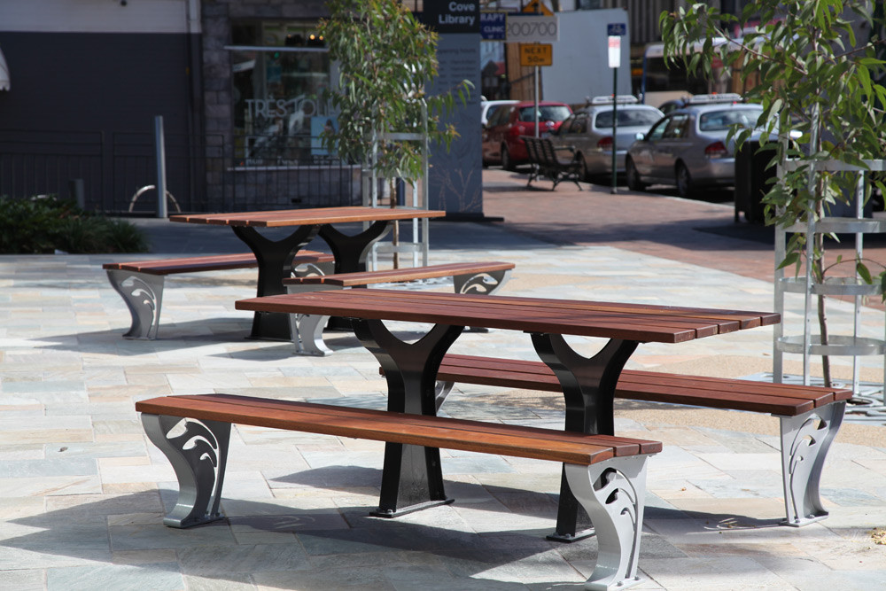 Tables and benches