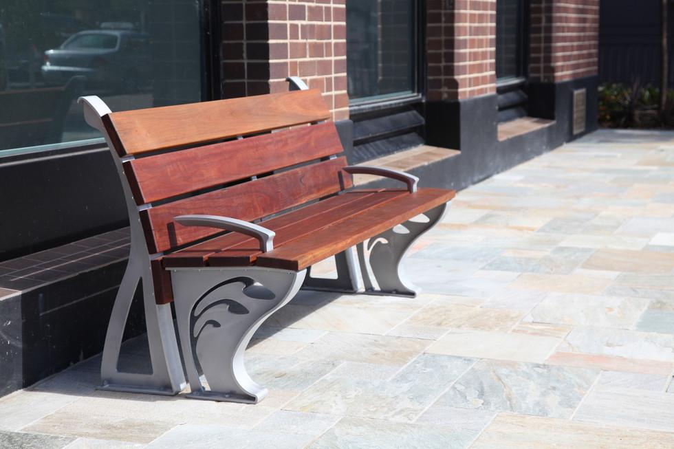 Street seating