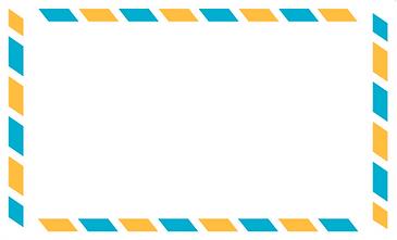 Envelope do correio aéreo