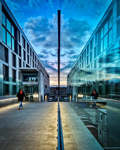 EPFL Campus M1 Stop