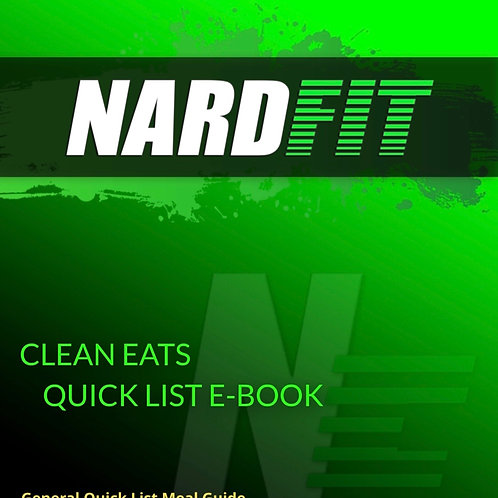 EAT THIS NOT THAT! List/Ebook