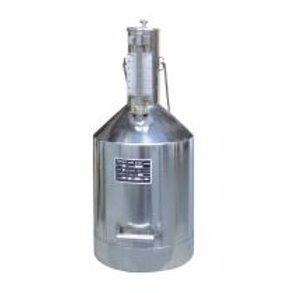10 LITRE STAINLESS STEEL MEASURING CAN