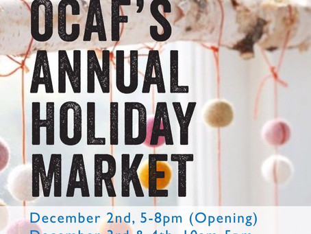 Holiday Market and New Work