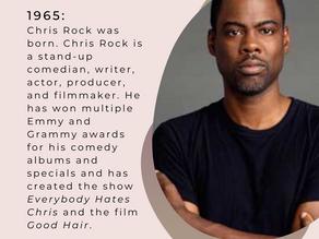 OTD February 7th - Black History Month