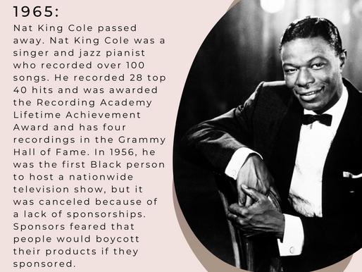 OTD February 15th - Black History Month