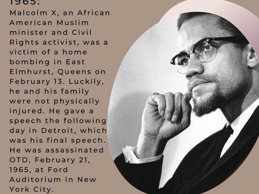 OTD February 21st - Black History Month
