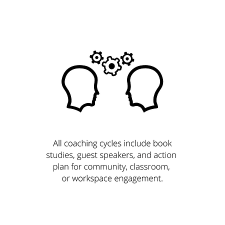 All coaching cycles include book studies