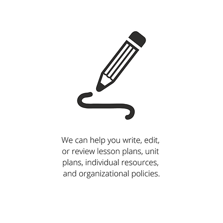 We can help you write, edit, or review l