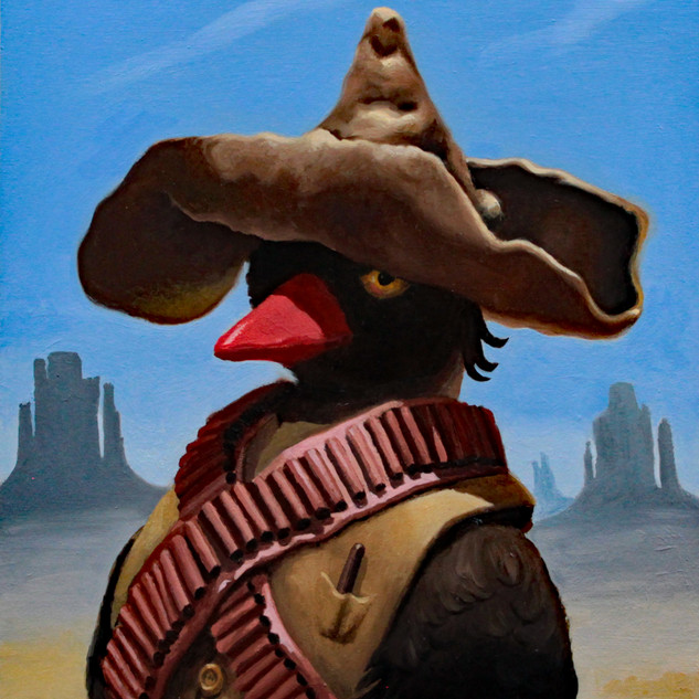 cowboy duck