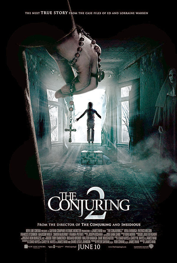 Film/Movie poster for The Conjuring 2