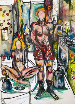 What-is-love_canvas-oil-ink-120-90cm.JPE