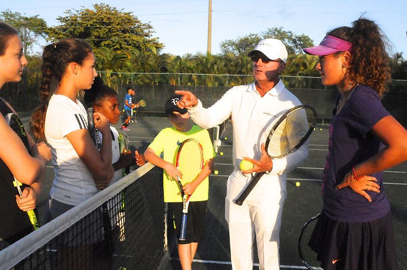 North Miami Beach Tennis Academy - NMBA - Gabe Jaramillo - Master Tennis Coach - Proven Tennis Training Methodology