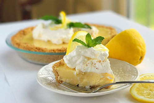 Zesty Lemon Cream Pie